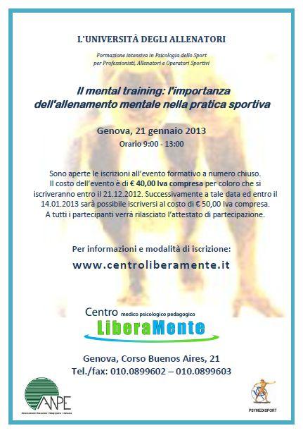 Mental training 2013