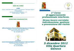 Corso Stress PS 1