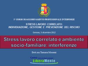 Stress sociofamiliare Mesemi